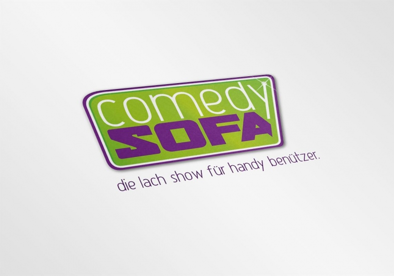 Corporate Design für Comedy Sofa