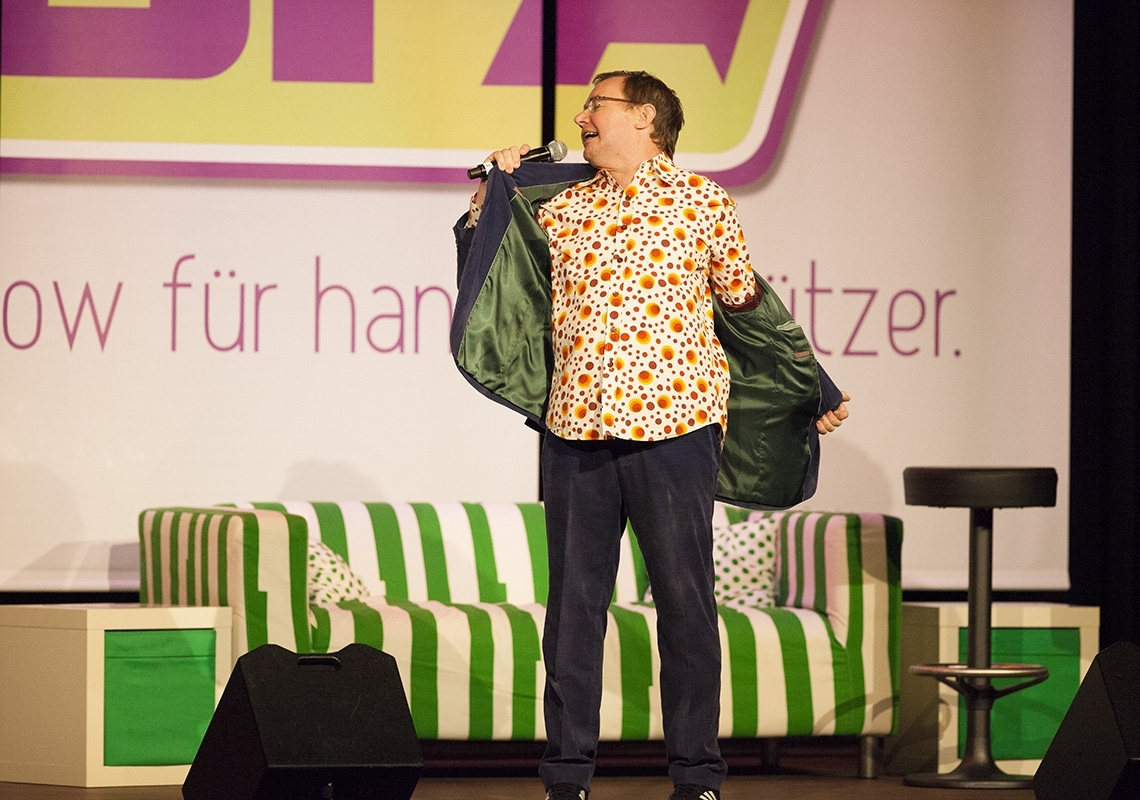 Michael Steinke im Comedy Sofa